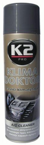 2b8355cb8 Autokozmetika | K2 Klima doktor penový čistič klimatizácie 500 ml ...
