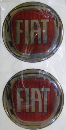 Logo Fiat 4 ks 55mm
