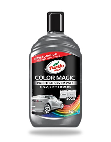 Turtle wax Color Magic Jet Silver Wax 500ml