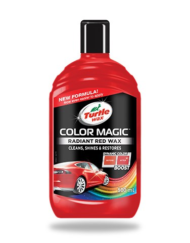 Turtle wax Color Magic Jet Red Wax 500ml