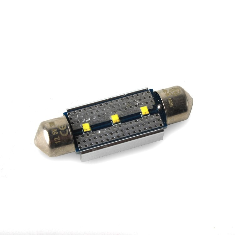 Led C5W 3SMD 36mm 6000K 12V canbus