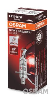 Osram H1 12V 55W Night Breaker Silver +100%