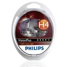 Philips Vision Plus H4 12V 60/55W