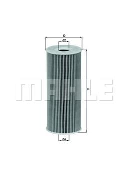 Olejový filter Mahle OX143D
