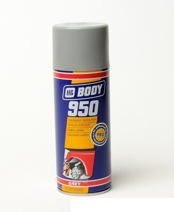BODY 950 šedý spray 400ml