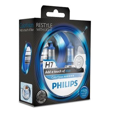 Philips H7 12V 55W ColorVision Blue Box