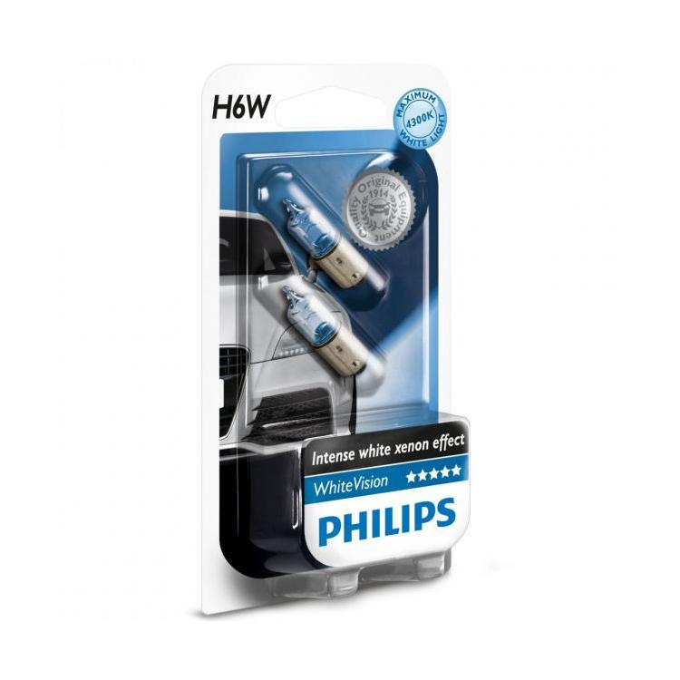 Philips H6W 12V White vision box