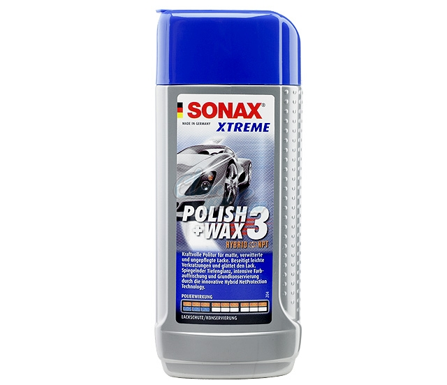 Sonax Xtreme Polish & Wax 3 progressive 250 ml