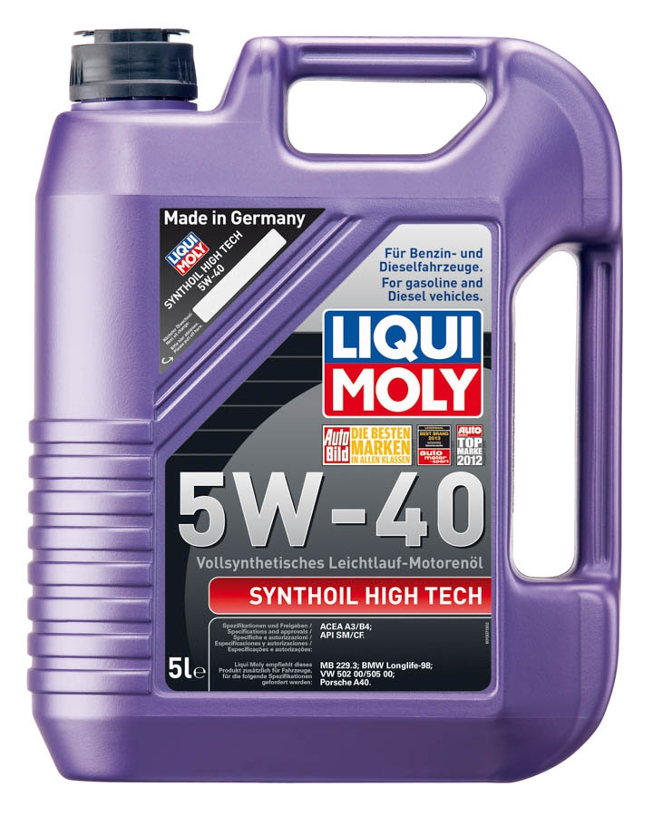 Liqui Moly Synthoil Hightech 5W-40 5L