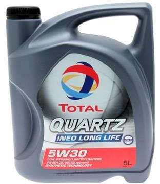 Total Quartz Ineo Longlife 504/507 5W-30 5L