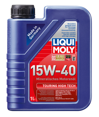 Liqui Moly Touring High Tech 15W-40 1l