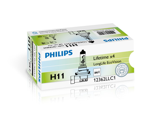 Philips H11 Longlife EcoVision 12V 55W