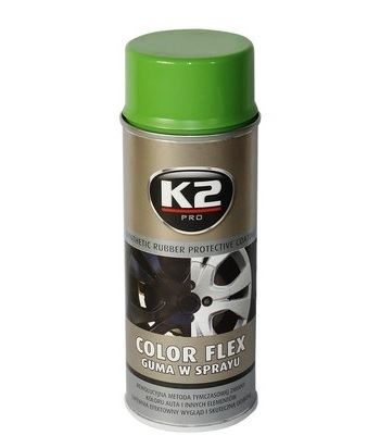 K2 Color flex zelený 400 ml