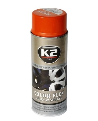 K2 Color flex oranžový 400 ml