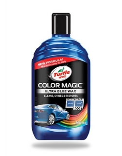 Turtle wax Color Magic Jet Blue Wax 500ml