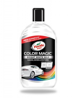 Turtle wax Color Magic Jet White Wax 500ml
