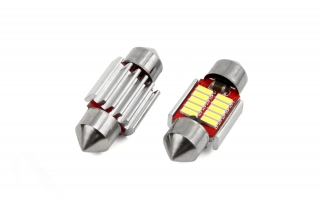 Led C5W 10SMD 31mm 6000K Canbus 12/24V
