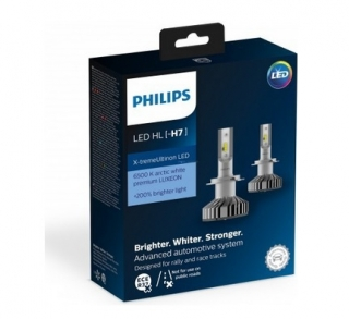 Philips X-tremeUltinon LED H7 12V 25W PX26d 12985BWX2