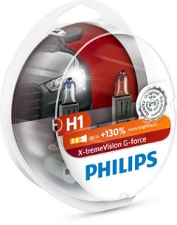 Philips X-tremeVision G-force H1 12V 55W +130% Box
