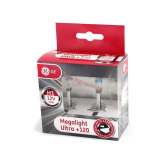 GE 12V H1 55W Megalight Ultra + 120% Box