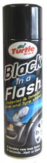 Turtle Wax Black in a Flash Aerosol 500 ml