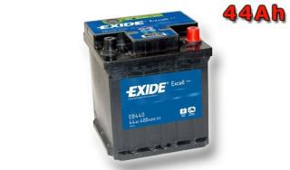 Exide Excell 44ah 360A