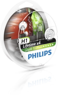 Philips H1 Longlife EcoVision 12V 55W Box