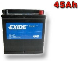 Exide Excell 45 ah 330A