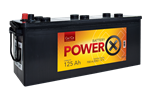 Autobatéria Power X 12V 125ah 700 A