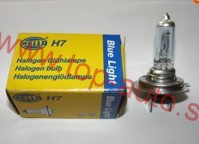 Hella H7 12V 55W blue light