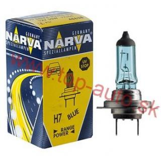 Narva H7 12V 55W Range Power Blue + 50%