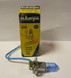 Narva H3 12V 55W Range Power Blue + 50%