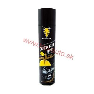 Coyote Cockpit spray citrón 400ml