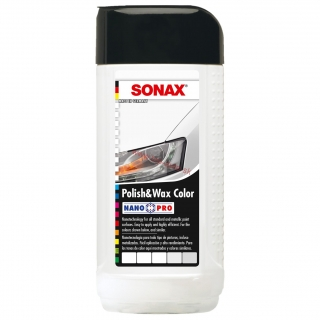 Sonax Polish & Wax Color biely 250ml