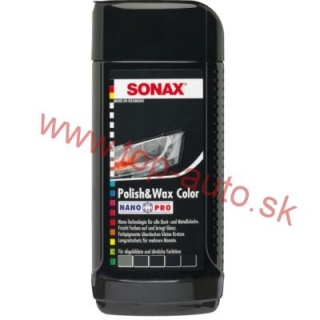 Sonax Polish & Wax Color čierny 250ml