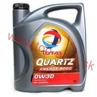 Total Quartz Energy 9000 0W-30 5L