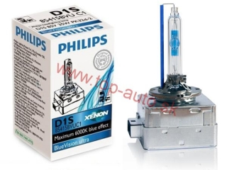 Philips Blue vision ultra D1S 35W 6000K