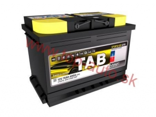 TAB Magic EFB 70Ah 680A, pravá