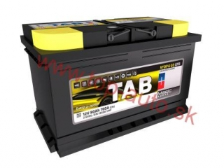 TAB Magic EFB 80Ah 760A, pravá