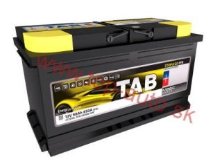 TAB Magic EFB 90Ah 850A, pravá