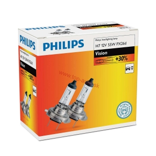 Philips premium 12V H7 55W Box