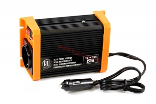 Menič napätia 12V/230V 150W USB All Ride