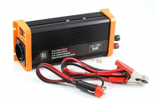 Menič napätia 12V/230V 500W USB All Ride