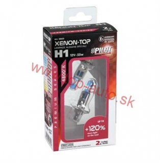 Pilot H1 12V 55W XENON-TOP +120% Box