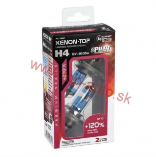 Pilot H4 12V 60/55W XENON-TOP +120% Box