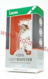 Lucas H7 12V 55W +50% Light Booster Box