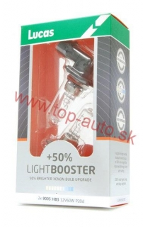 Lucas HB3 12V 60W +50% Light Booster Box