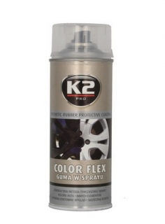 K2 Color flex transparentný 400 ml